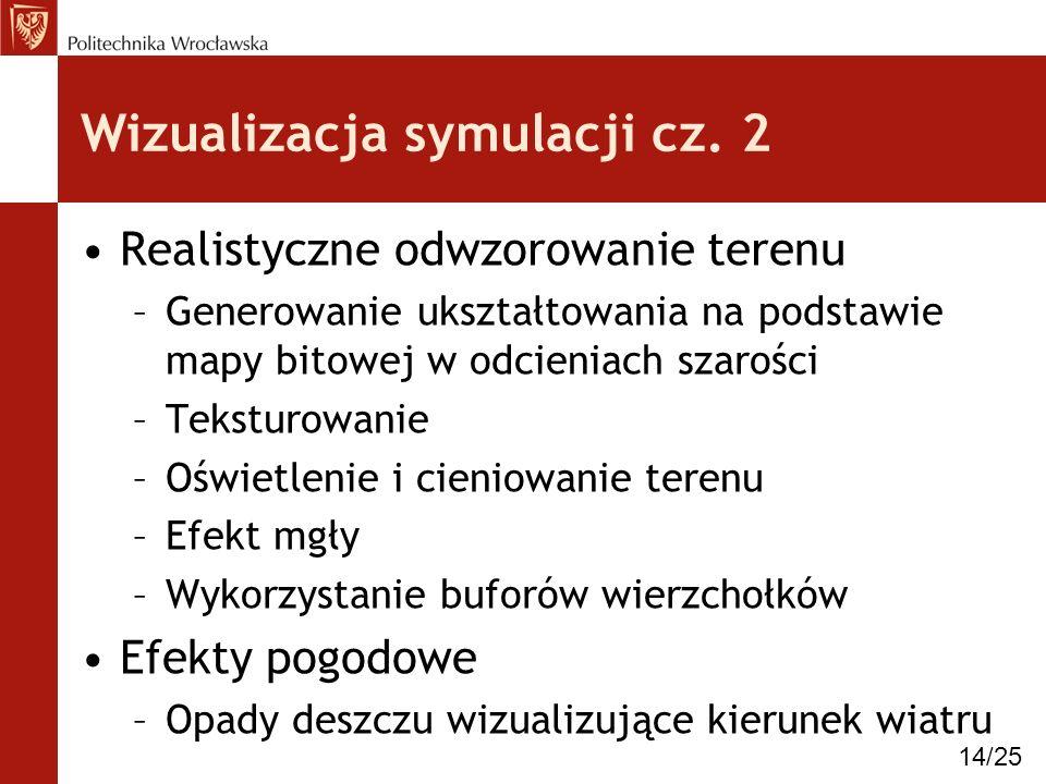 Wizualizacja symulacji cz. 2