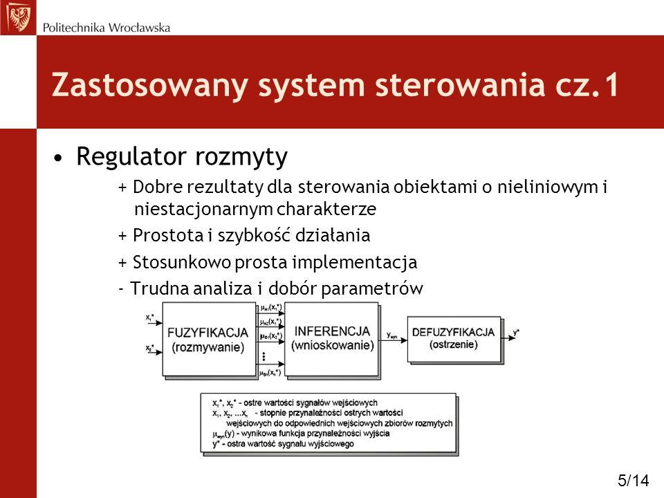 Zastosowany system sterowania cz.1
