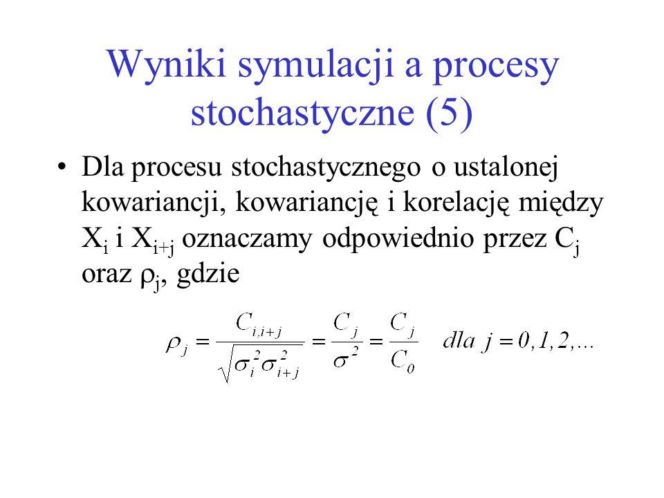 Wyniki symulacji a procesy stochastyczne (5)
