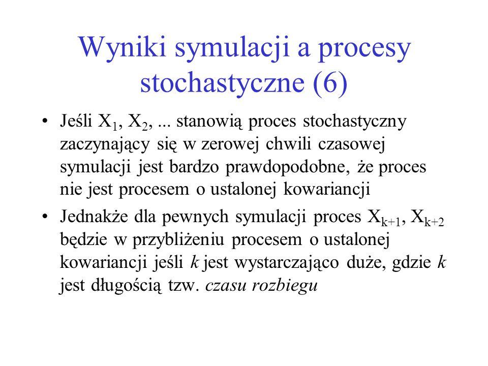 Wyniki symulacji a procesy stochastyczne (6)