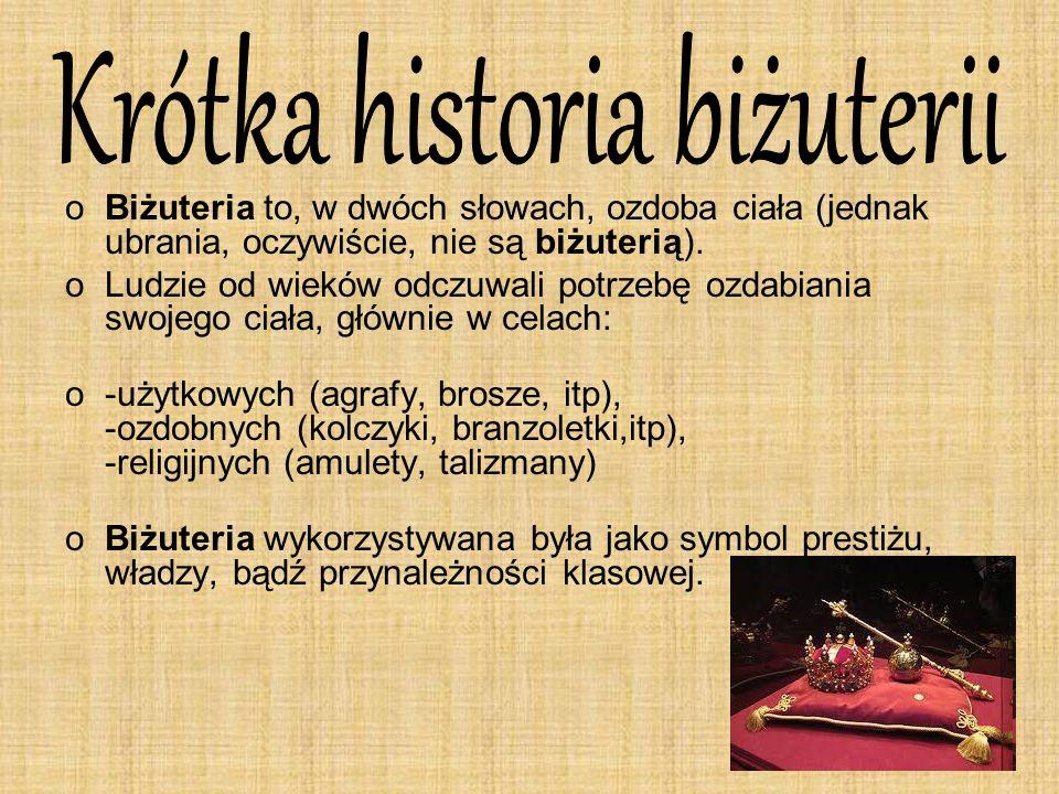 Krótka historia biżuterii