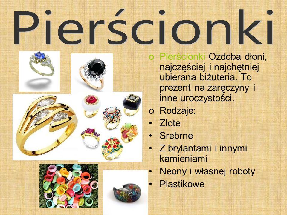Pierścionki Pierścionki Ozdoba dłoni, najczęściej i najchętniej ubierana biżuteria. To prezent na zaręczyny i inne uroczystości.