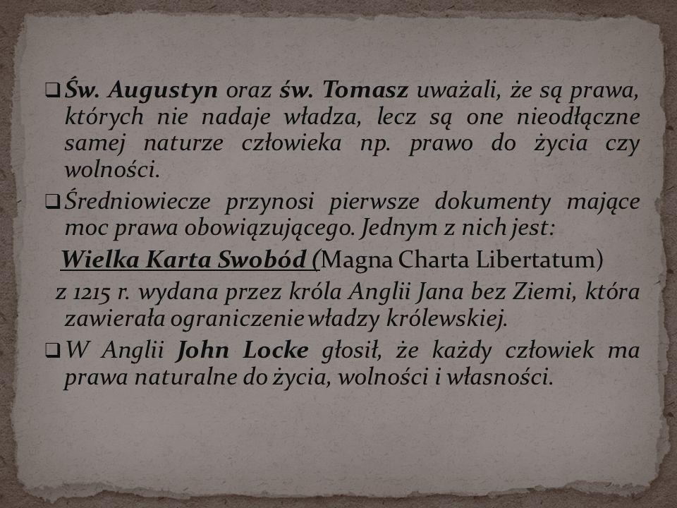 Wielka Karta Swobód (Magna Charta Libertatum)