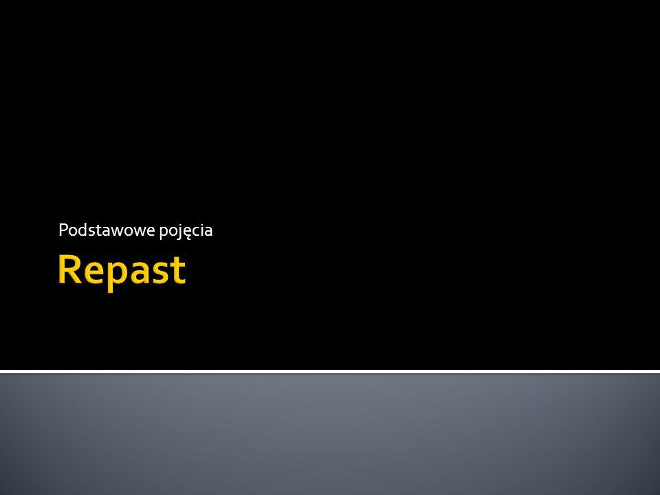 Podstawowe pojęcia Repast