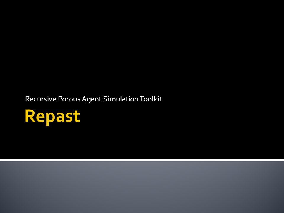 Recursive Porous Agent Simulation Toolkit