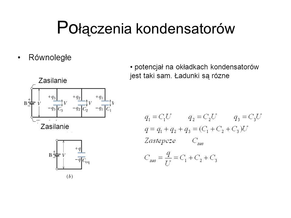 Połączenia kondensatorów
