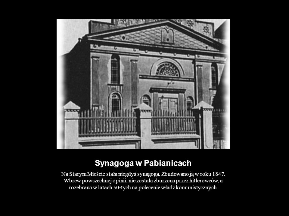 Synagoga w Pabianicach