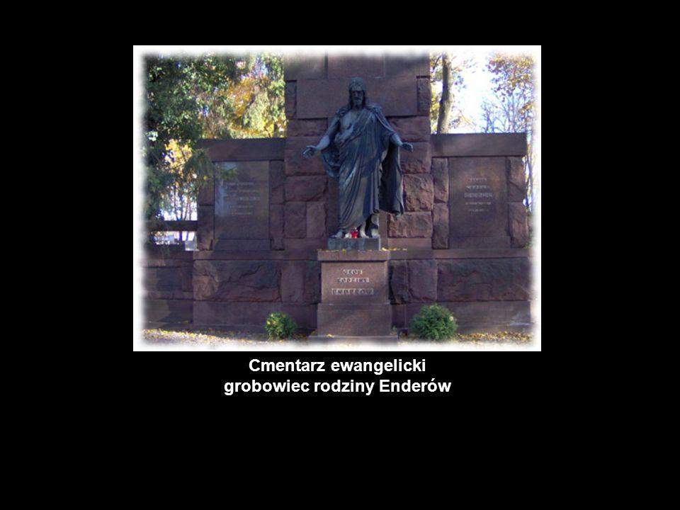 Cmentarz ewangelicki grobowiec rodziny Enderów
