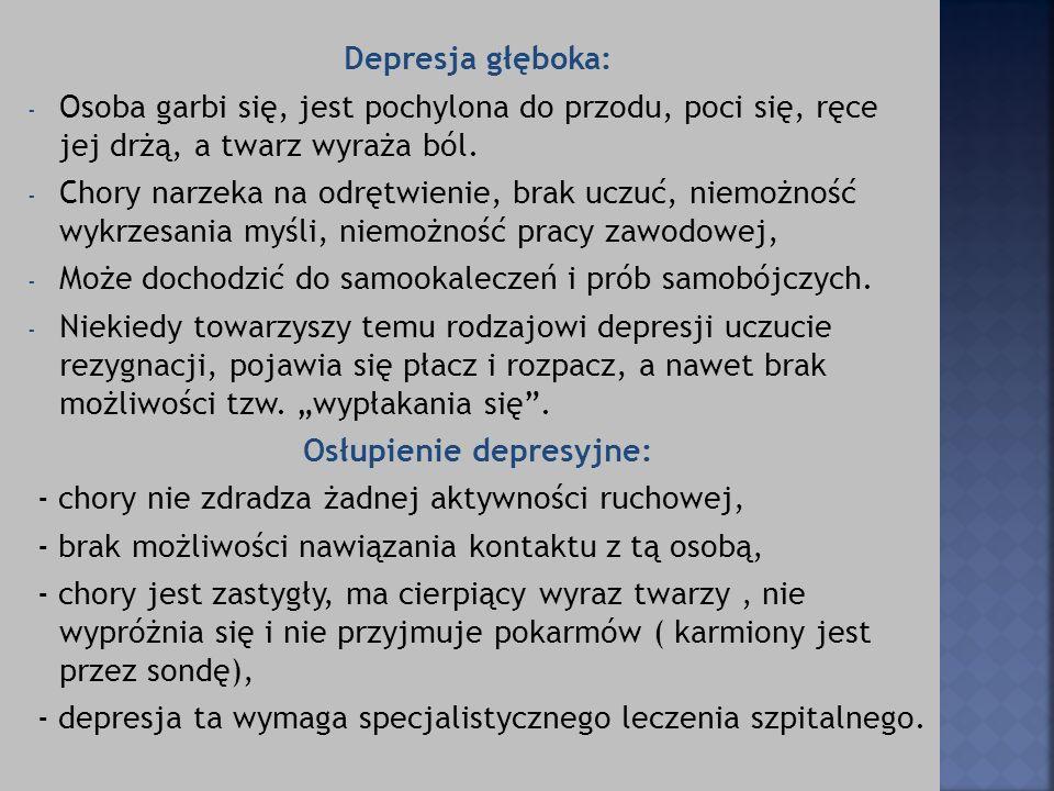 Osłupienie depresyjne: