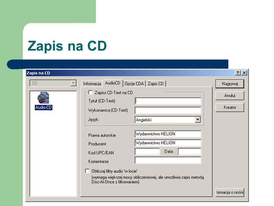 Zapis na CD