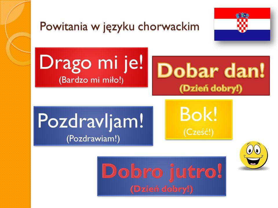 Powitania w języku chorwackim