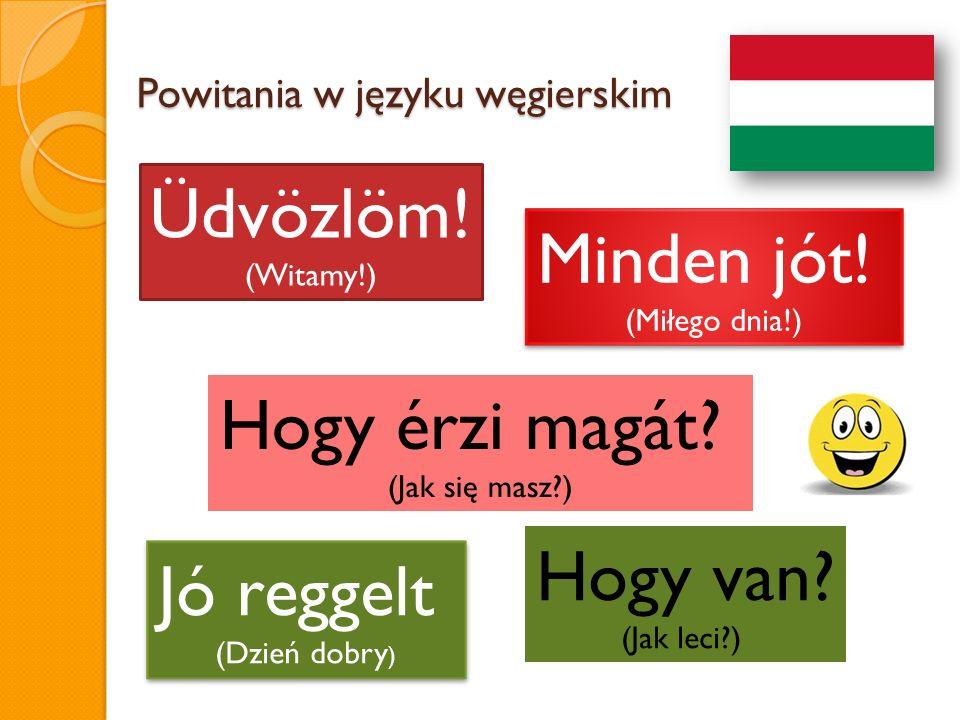 Powitania w języku węgierskim