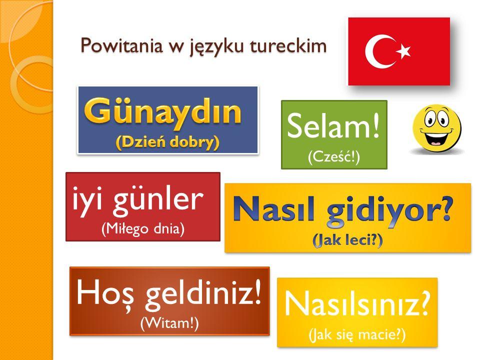 Powitania w języku tureckim