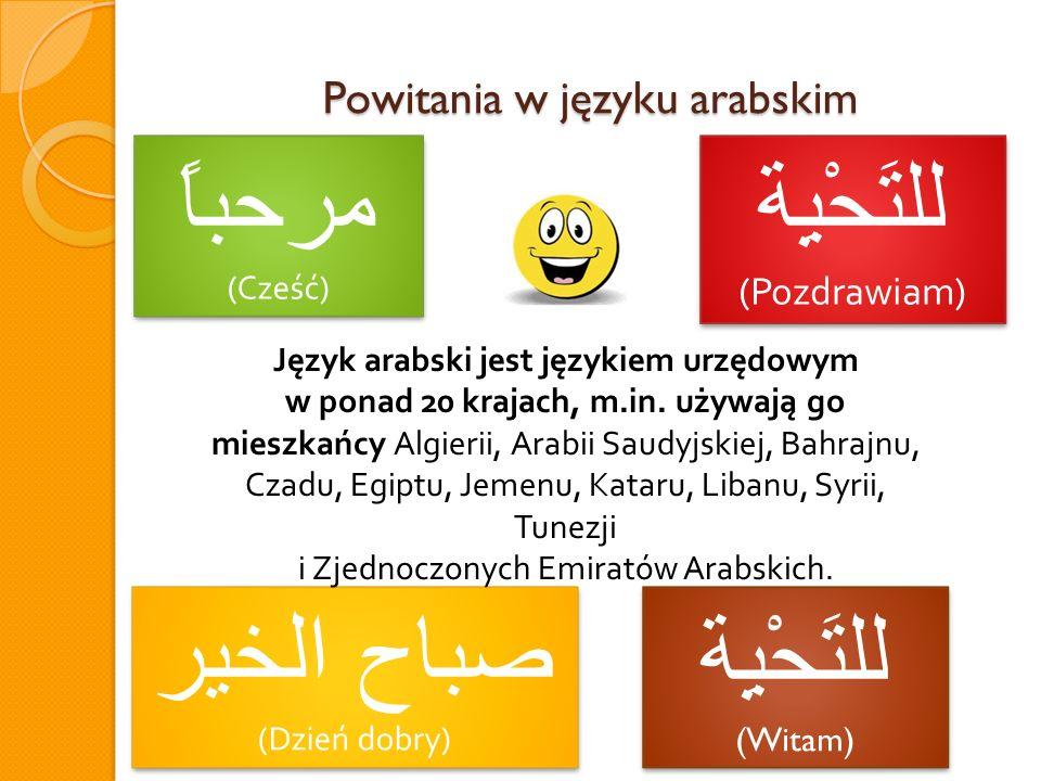 Powitania w języku arabskim