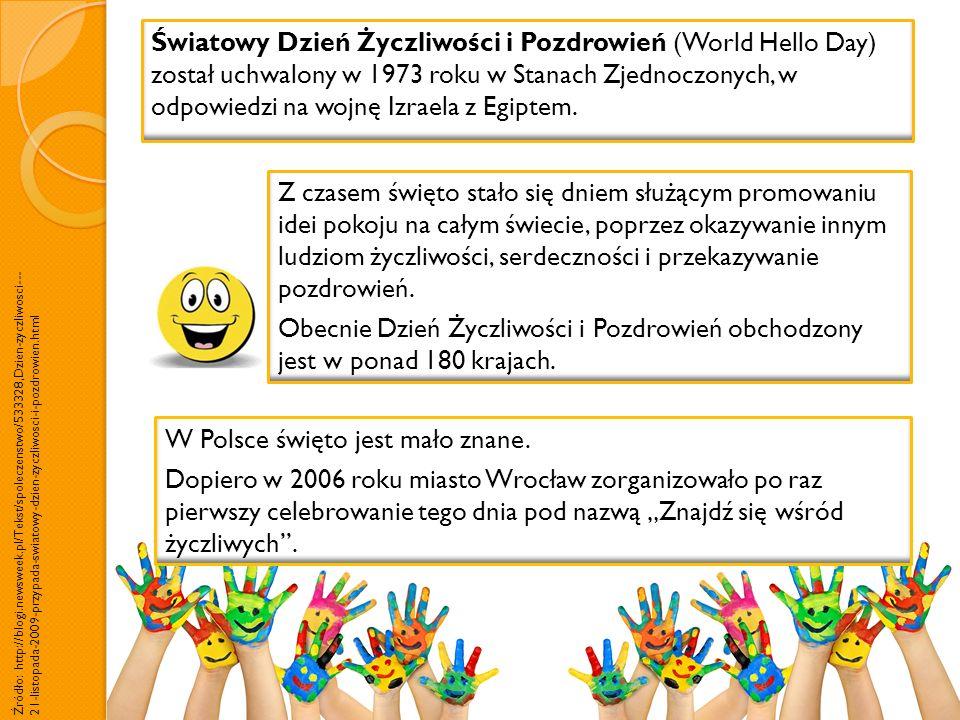 W Polsce święto jest mało znane.