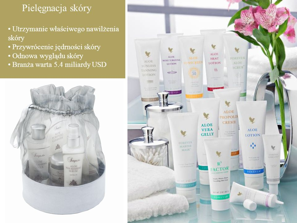 Pielęgnacja skóry • Utrzymanie właściwego nawilżenia skóry