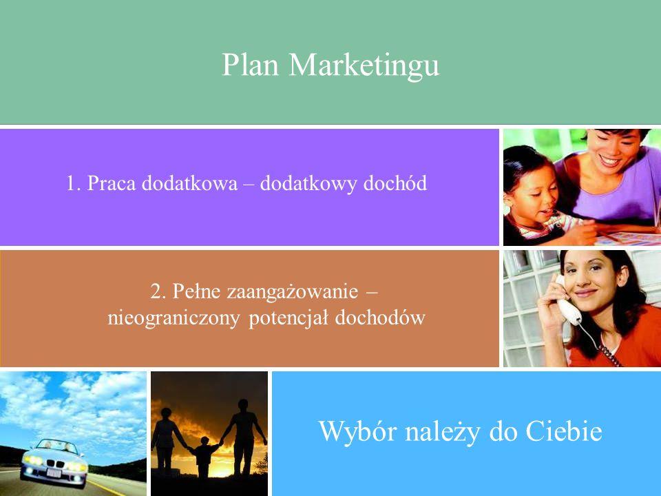 Plan Marketingu Wybór należy do Ciebie