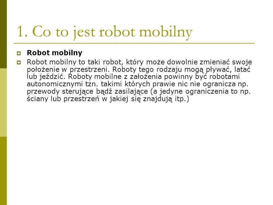 1. Co to jest robot mobilny