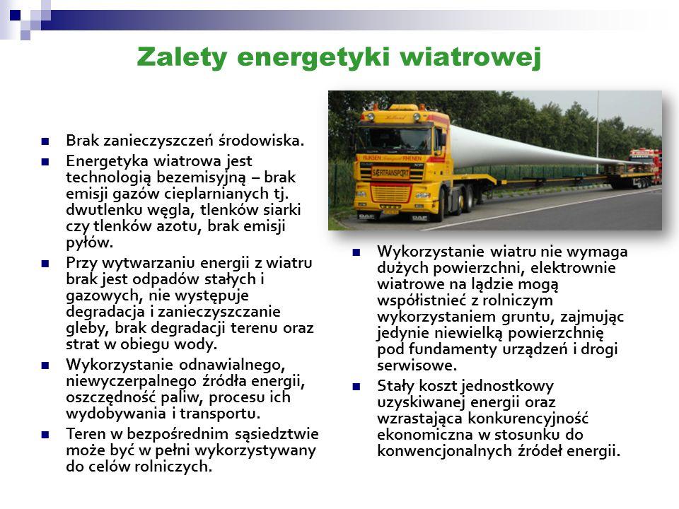 Zalety energetyki wiatrowej