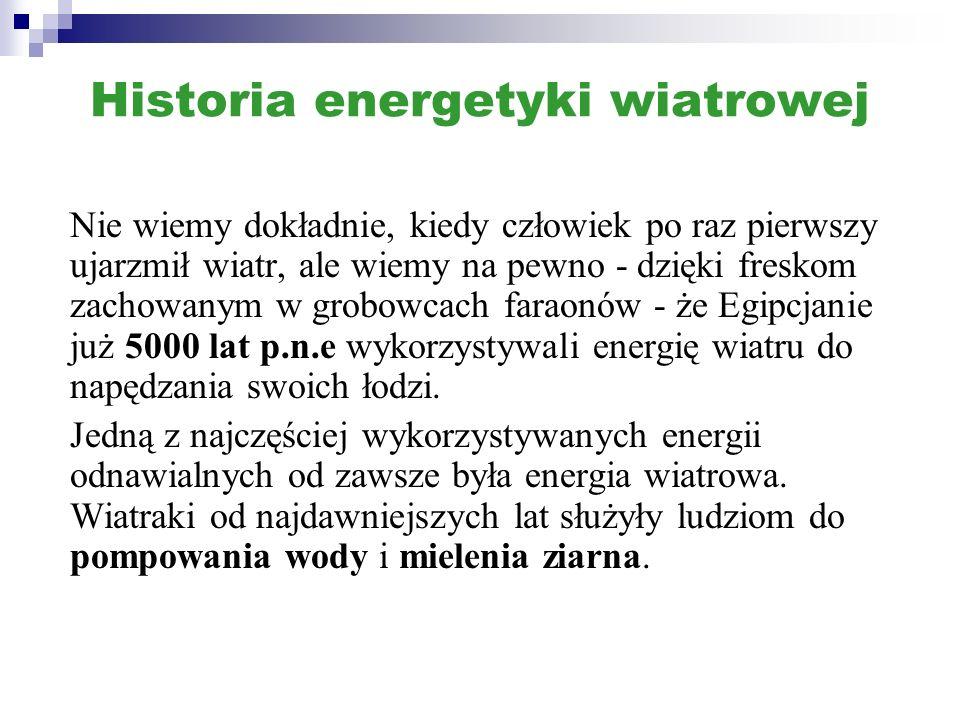 Historia energetyki wiatrowej