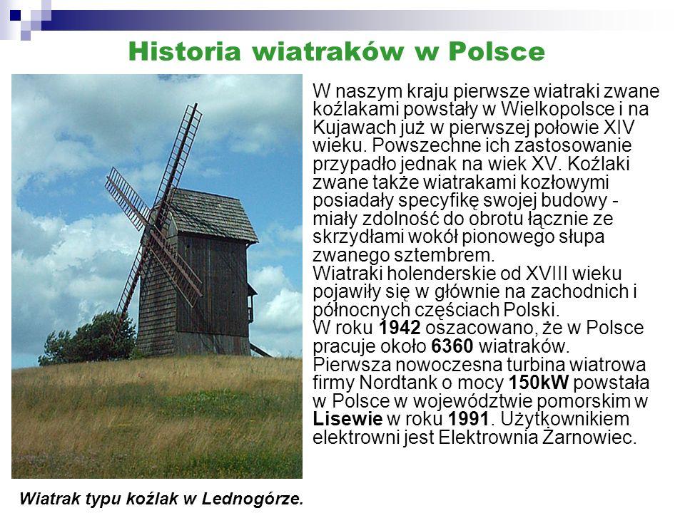 Historia wiatraków w Polsce
