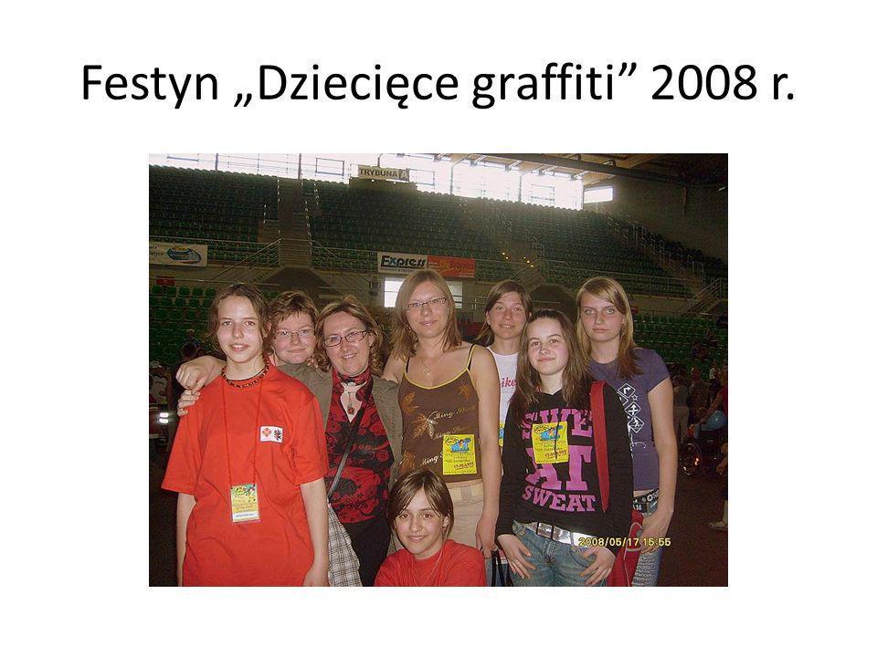 "Festyn ""Dziecięce graffiti 2008 r."