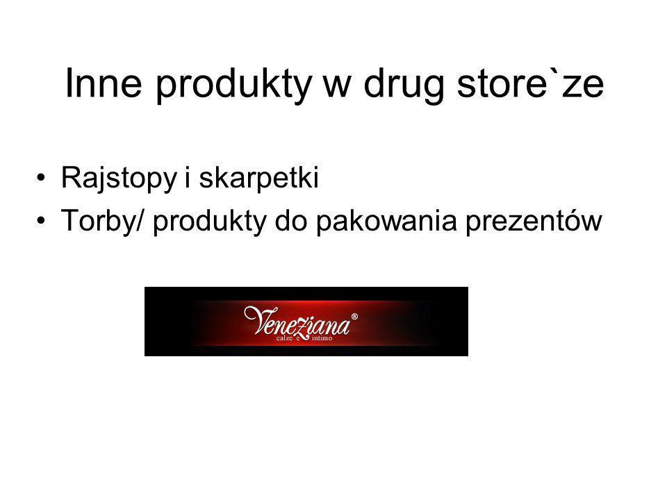 Inne produkty w drug store`ze