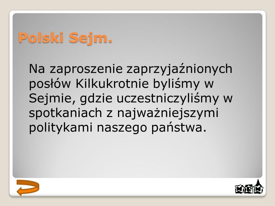 Polski Sejm.
