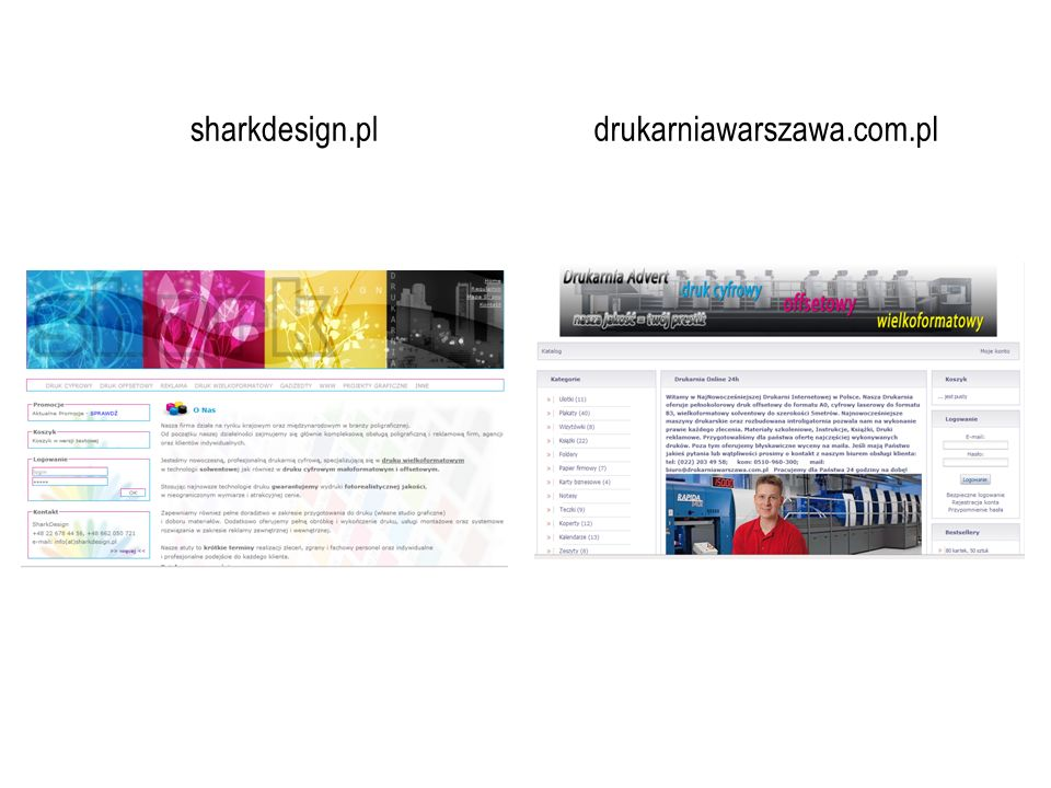 sharkdesign.pl drukarniawarszawa.com.pl