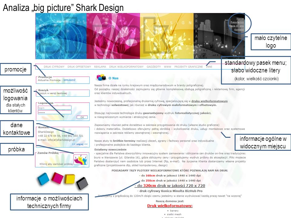 "Analiza ""big picture Shark Design"
