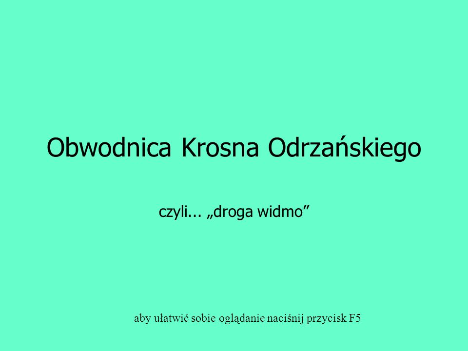 Obwodnica Krosna Odrzańskiego