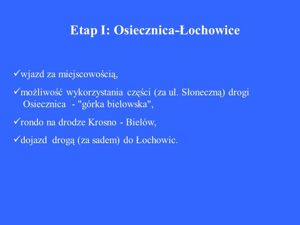 Etap I: Osiecznica-Łochowice