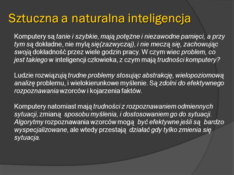 Sztuczna a naturalna inteligencja