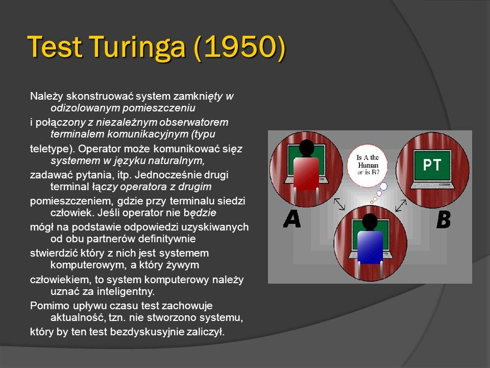 Test Turinga (1950)