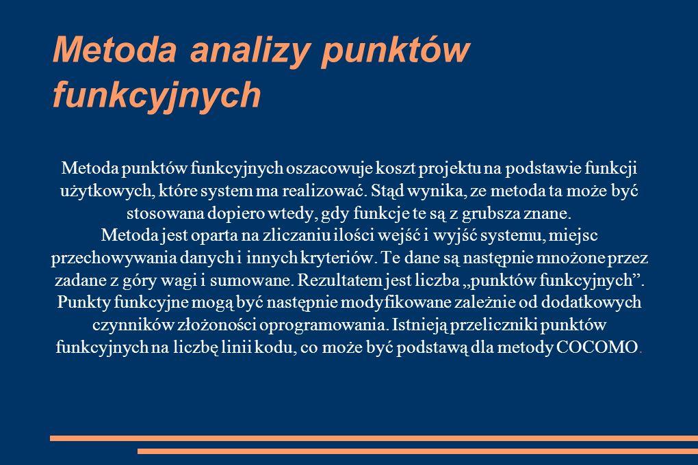 Metoda analizy punktów funkcyjnych