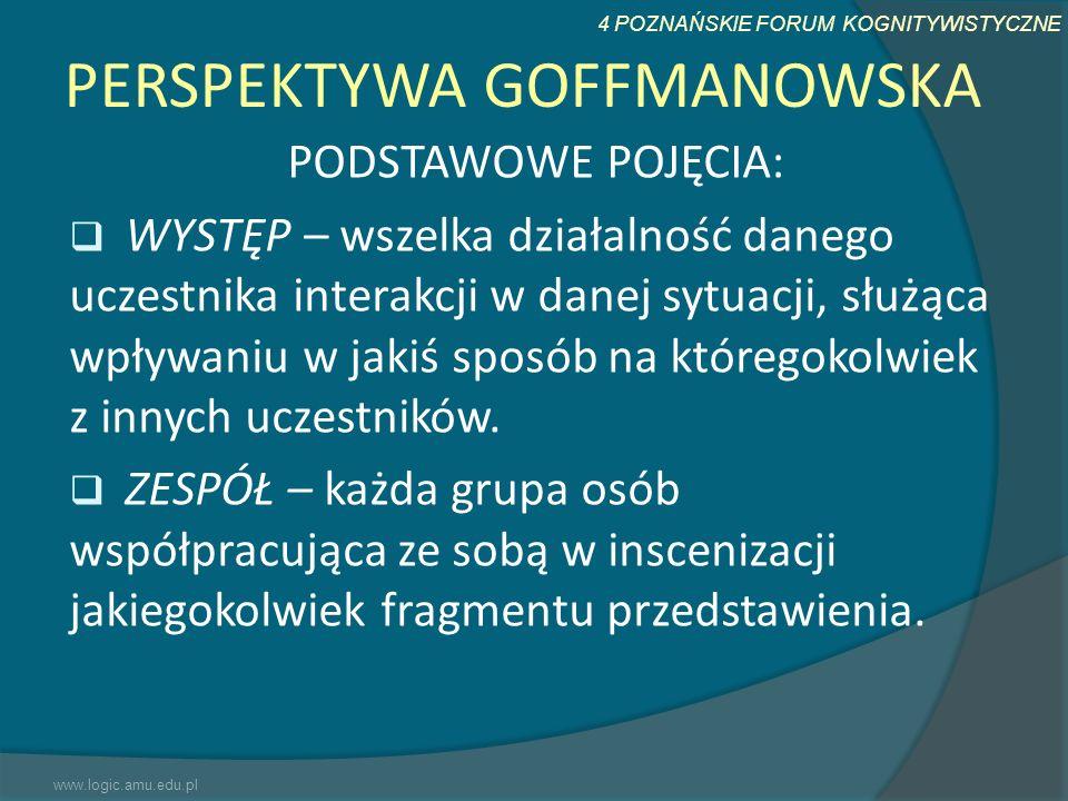 PERSPEKTYWA GOFFMANOWSKA