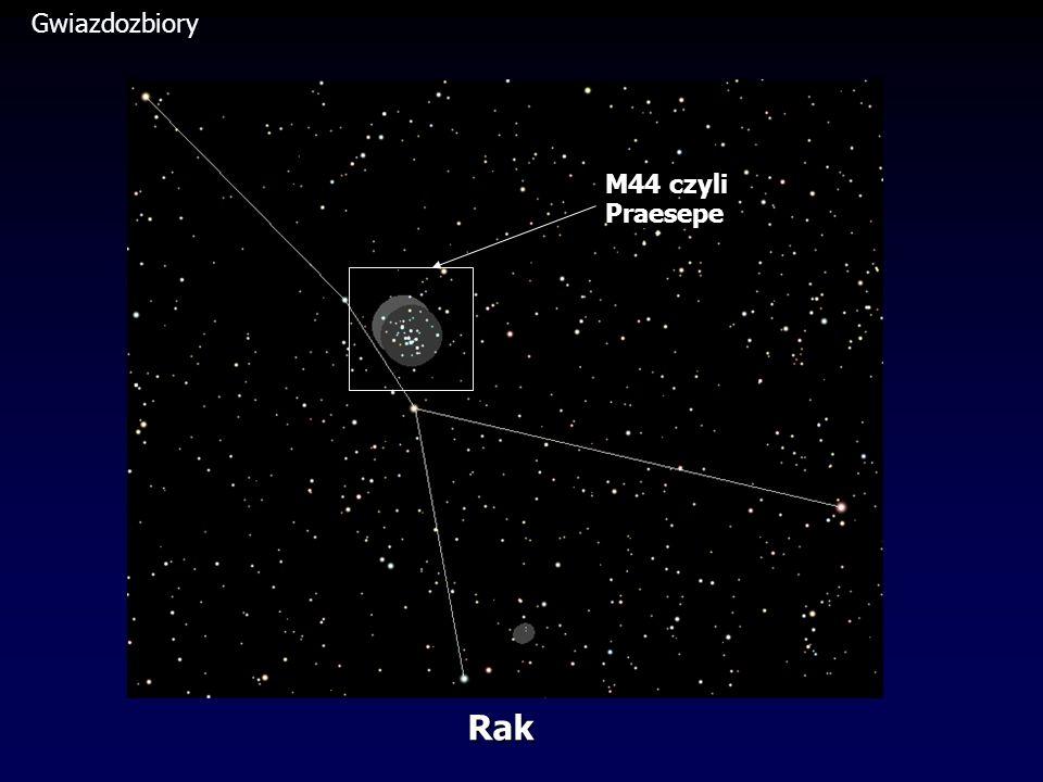 Gwiazdozbiory M44 czyli Praesepe Rak