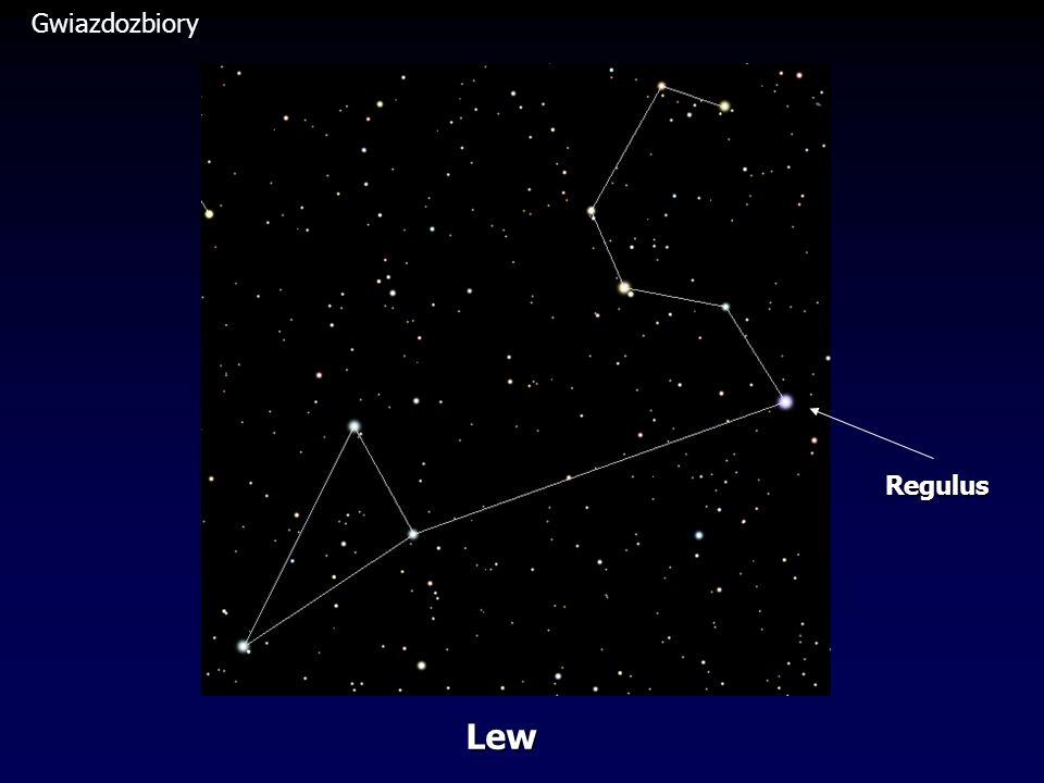 Gwiazdozbiory Regulus Lew