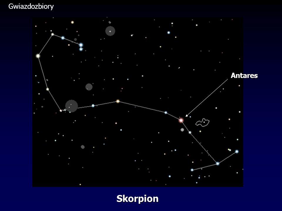 Gwiazdozbiory Antares Skorpion
