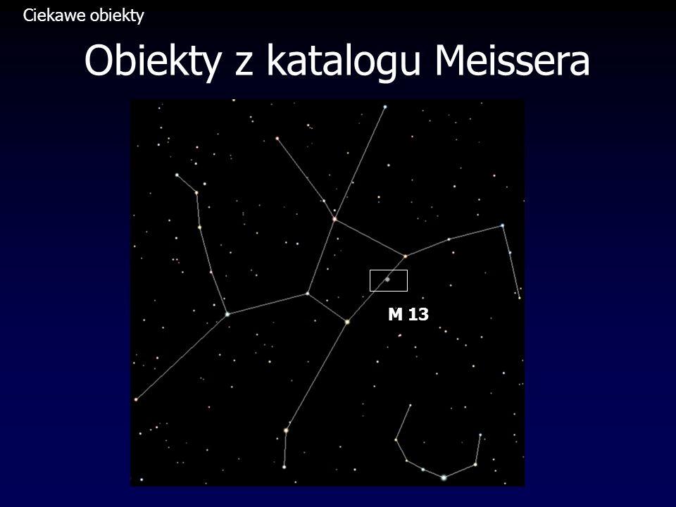 Obiekty z katalogu Meissera