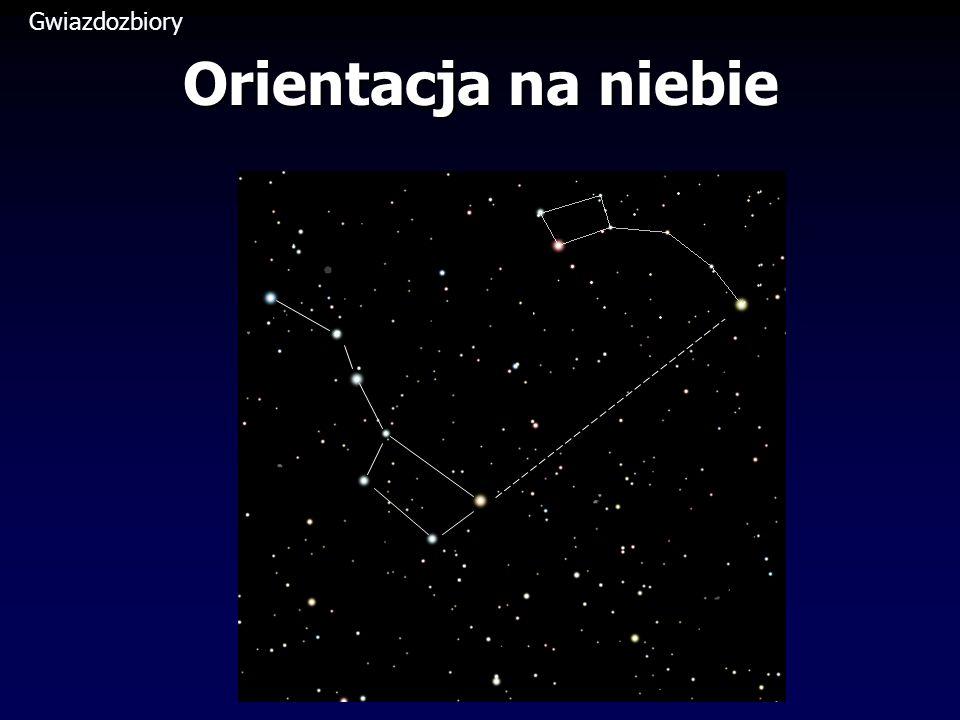 Gwiazdozbiory Orientacja na niebie
