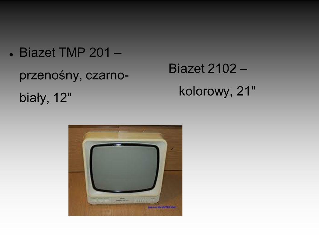 Biazet TMP 201 – przenośny, czarno- biały, 12