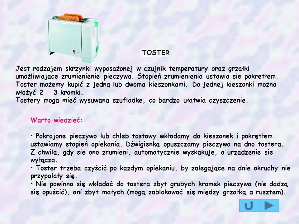 TOSTER