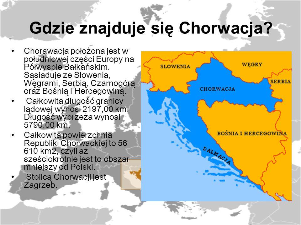 Gdzie znajduje się Chorwacja