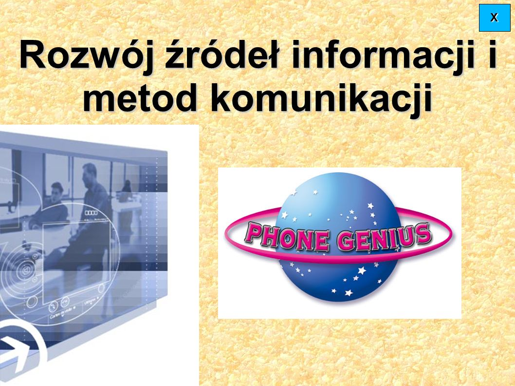 Rozwój źródeł informacji i