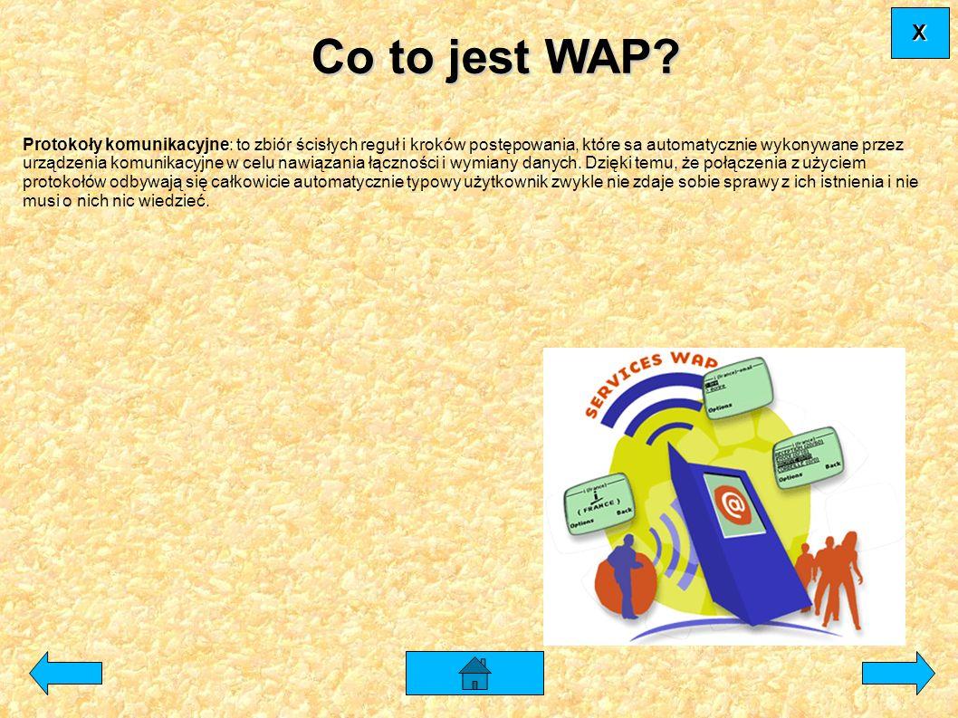 X Co to jest WAP