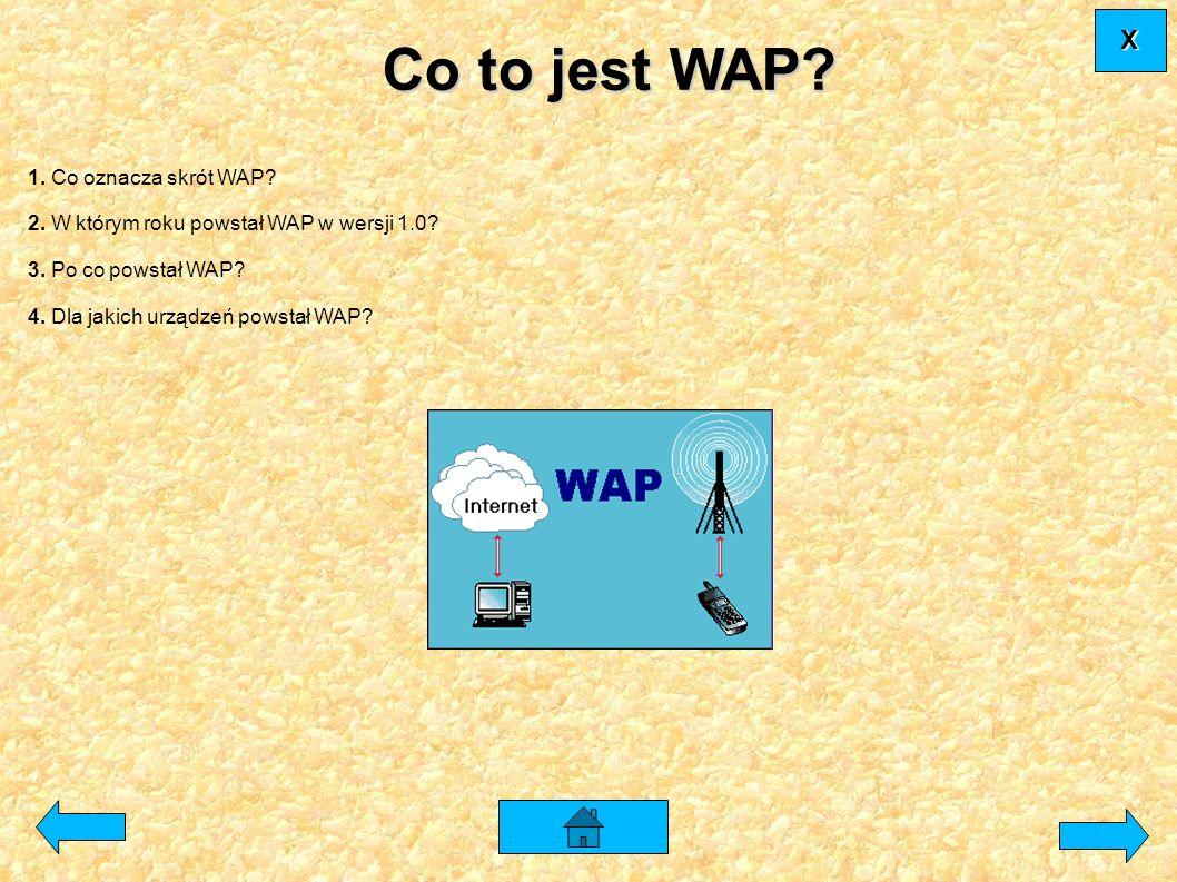 Co to jest WAP X 1. Co oznacza skrót WAP