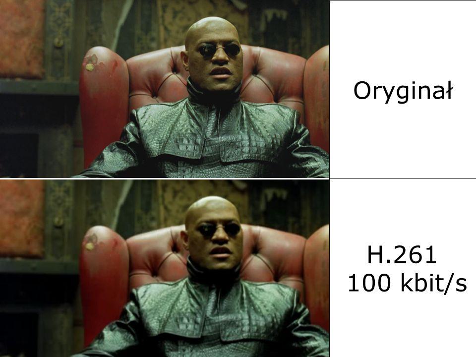 Oryginał H.261. H.261 100 kbit/s. 2017-03-26. Al. Mickiewicza 30, 30-059 Kraków. tel. (12) 6345582, faks (12) 6342372.