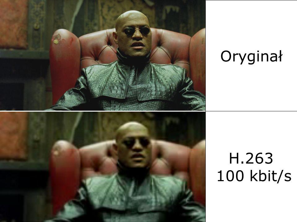 Oryginał H.263. H.263 100 kbit/s. 2017-03-26. Al. Mickiewicza 30, 30-059 Kraków. tel. (12) 6345582, faks (12) 6342372.