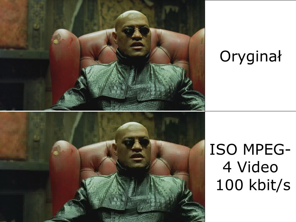 MPEG4 Oryginał ISO MPEG-4 Video 100 kbit/s 2017-03-26